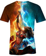 Wonder Woman Thor For Man And Women 3D T Shirt  All Over Printed G95
