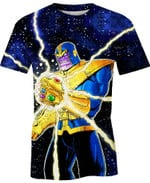 The Spread Power Movie Marvel For Man And Women  3D T Shirt  All Over Printed Y97