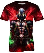 Hell Spawn For Man And Women 3D T Shirt  All Over Printed G95
