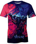 Two Minds In One Monster For Man And Women 3D T Shirt  All Over Printed G95