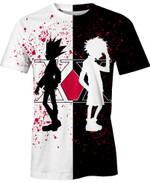 Gon and Killua For Man And Women  3D T Shirt  All Over Printed Y97