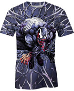 Spider For Man And Women 3D T Shirt  All Over Printed G95