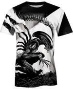 Xenomorph Runner For Man And Women 3D T Shirt  All Over Printed G95