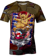 Gian And Doraemon For Man And Women 3D T Shirt  All Over Printed G95