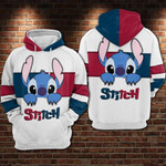 Stitch cartoon lilo and stitch walt disney 6 for man and women 3D Hoodie Zip Hoodie Y97