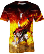 Dragneel Fairy Tail Anime Manga For Man And Women  3D T Shirt  All Over Printed Y97