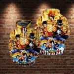 Lontse Anime One Piece Monkey D Luffy Novelty 3d All Over Printed Shirt Hoodie Y97