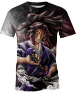 Three Sets Of Eyes Demon For Man And Women 3D T Shirt  All Over Printed G95