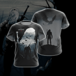 The Witcher 3D T Shirt  All Over Printed For Man And Woman G95