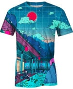 Demon Slaying Estate Naruto For Man And Women 3D T Shirt  All Over Printed G95