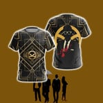 Kingsma The Secret Service 3D T Shirt  All Over Printed For Man And Woman G95