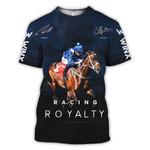 Winx Racing Horse Royalty 3D Hoodie Sweatshirt Zip Hoodie T shirt G95