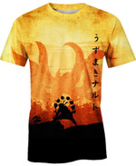 The Great Fox  Anime Manga For Man And Women  3D T Shirt  All Over Printed Y97