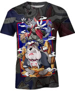 Tom And Jerry Cosplay For Man And Women 3D T Shirt  All Over Printed G95