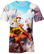 Goku vs Saitama For Man And Women 3D T Shirt  All Over Printed G95