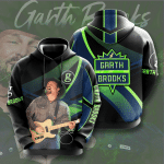Garth Brooks Signature  3D All Over Printed Shirt Hoodie Y97