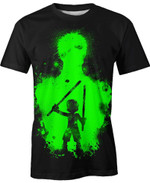 Chibi Roronoa Zoro One Piece For Man And Women  3D T Shirt  All Over Printed Y97