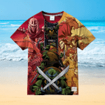 Teenage Mutant Ninja Turtles 6 For Man And Women 3D T Shirt  All Over Printed G95