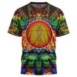 Vitruvian Joe Exotic Tiger King 3D T Shirt  All Over Printed G95