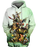 A Perilous Adventure 3D All Over Printed Shirt Hoodie Y97