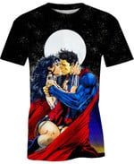 The Kiss Spriderman For Man And Women 3D T Shirt  All Over Printed G95
