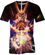 All Might Live For Man And Women 3D T Shirt  All Over Printed G95