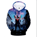 Devil May Cry 3D All Over Printed Shirt Hoodie G95