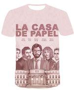 La Casa De Papel For Man And Women 3D T Shirt  All Over Printed Y97