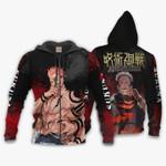 Sukuna Shirt Jujutsu Kaisen 3D All Over Printed Shirt Zip Hoodie G95