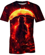 Devastating Space Storm For Man And Women 3D T Shirt  All Over Printed G95