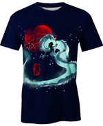 Red Dragon Haku  For Man And Women  3D T Shirt  All Over Printed Y97