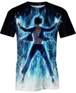 Dabi Blue Flame For Man And Women 3D T Shirt  All Over Printed G95