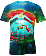 Ponyo Goldfish Princess For Man And Women  3D T Shirt  All Over Printed Y97