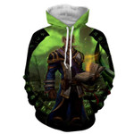 World of Warcraft Mage Character Artwork Cool Game 3D All Over Printed Shirt Hoodie G95