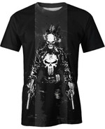 Ghost Punisher For Man And Women 3D T Shirt  All Over Printed G95