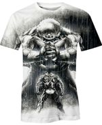 The Wolverine And Juggernaut Battle Movie Marvel For Man And Women  3D T Shirt  All Over Printed Y97