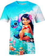 Through Fire And Water For Man And Women  3D T Shirt  All Over Printed Y97