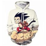 Dragon Ball Z Goku On Nimbus 3D All Over Printed Shirt Hoodie G95