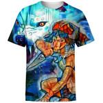 Raging Princess Mononoke For Man And Women 3D T Shirt  All Over Printed G95