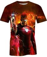 I Am Iron Man For Man And Women 3D T Shirt  All Over Printed G95