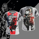 Metal Gear Solid 3D T Shirt  All Over Printed G95