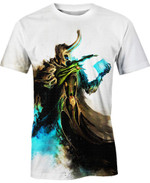Littch king Loki Movie Marvel For Man And Women  3D T Shirt  All Over Printed Y97