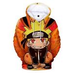 Naruto Series Naruto Uzumaki Super Cute 3D All Over Printed Shirt Hoodie G95