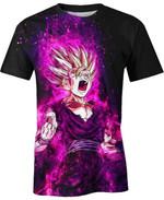 Son Gohan Super Saiyan For Man And Women 3D T Shirt  All Over Printed G95