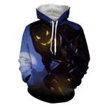 Overwatch Reaper Deathly Hero Silent 3D All Over Printed Shirt Hoodie G95