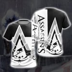 Assassin's Creed IV Black Flag New Look 3D T Shirt  All Over Printed G95