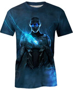 The Green Power For Man And Women 3D T Shirt  All Over Printed G95
