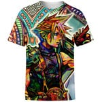 Trippy Cloud Final Fantasy For Man And Women 3D T Shirt  All Over Printed G95