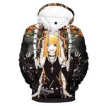 Misa amane death note apparel 3D All Over Printed Shirt Hoodie G95