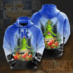 Kentucky Wildcats The Grinch 3d All Over Printed Shirt Hoodie Y97